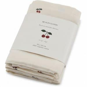 konges slojd swaddle cherry