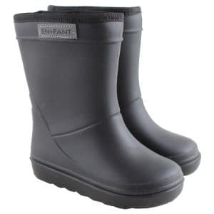 enfant thermo boots zwart black