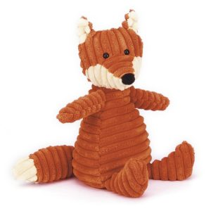 jellycat knuffel corduroy fox small