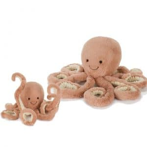 jellycat knuffel octopus odell medium