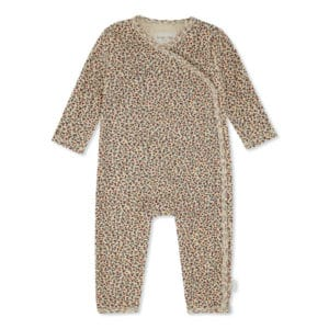 Konges Slojd newborn jumpsuit rosaraie red