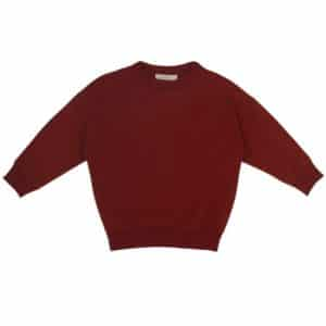 phil phae sweater deepest brick