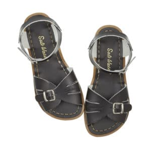 salt water sandals classic black adult