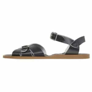 salt water sandals original black classic