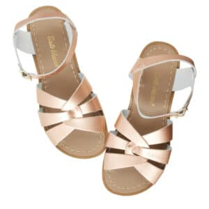 salt water sandals original rose gold adult
