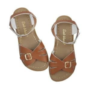 salt water sandals original classic tan
