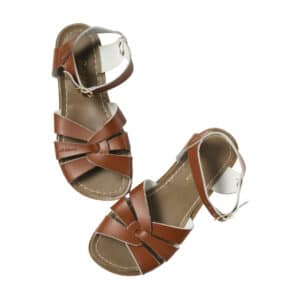 salt water sandals original tan kids