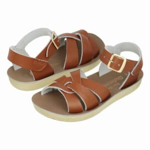 salt water sandals swimmer tan