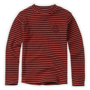 Sproet & Sprout turtle neck rib stripe